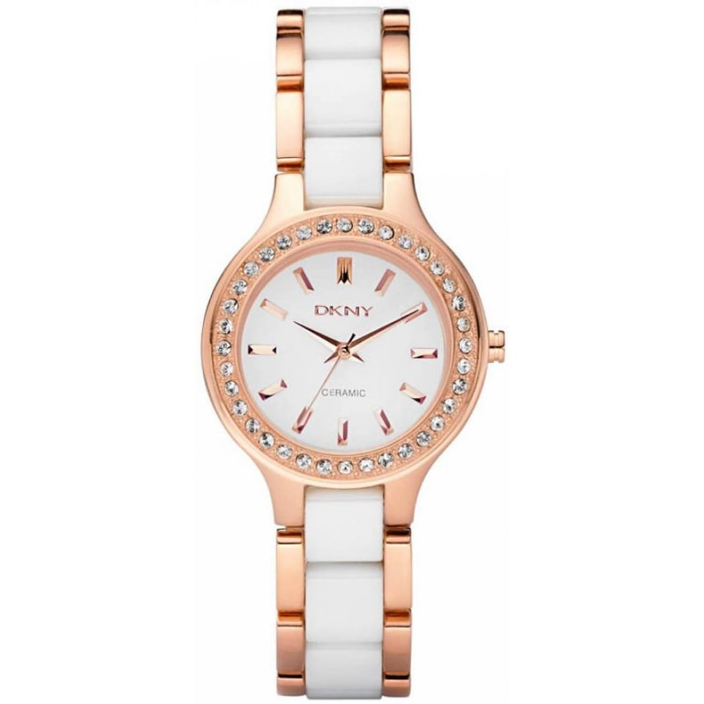 4a5ca74d377 DKNY Ladies Ceramic Chambers Watch NY8141 - Womens Watches from The Watch  Corp UK