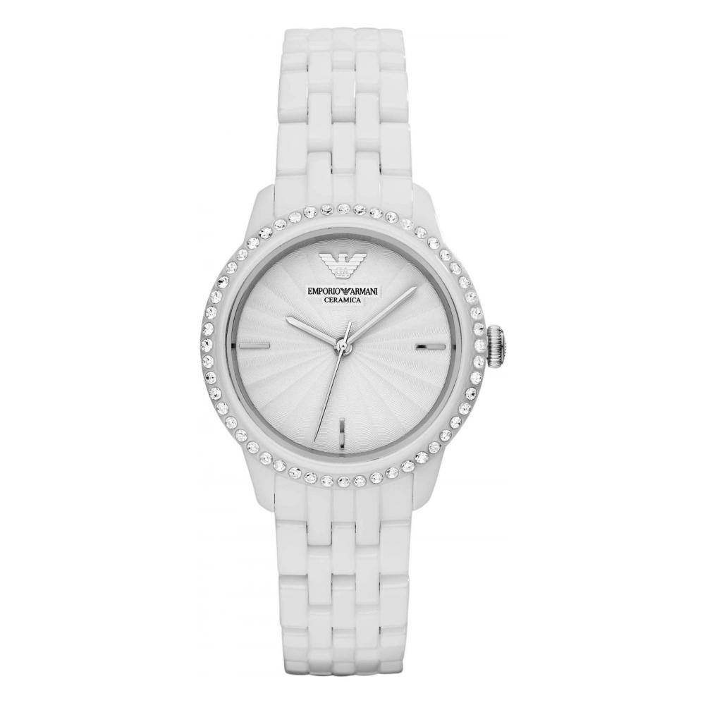 70256e26 Emporio Armani Ladies Ceramica Watch AR1477