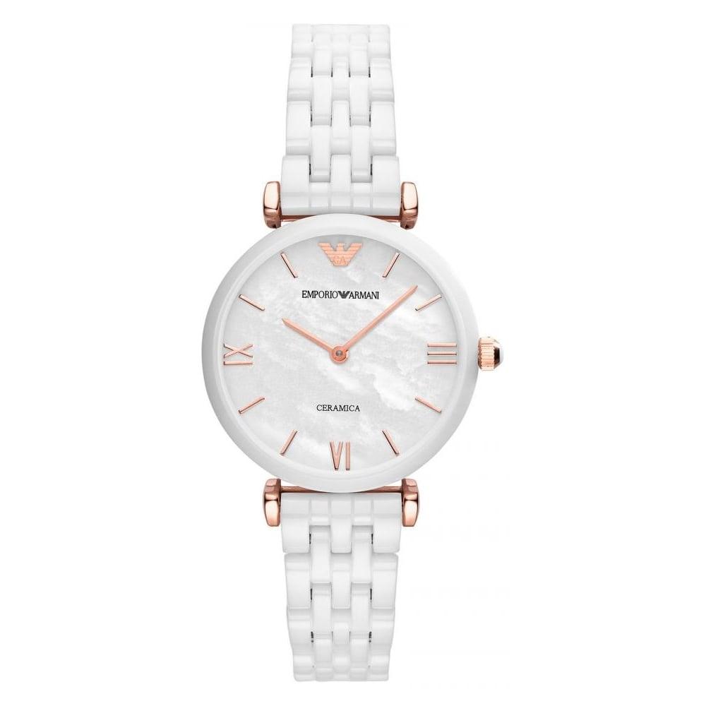 часы армани женские керамика меня