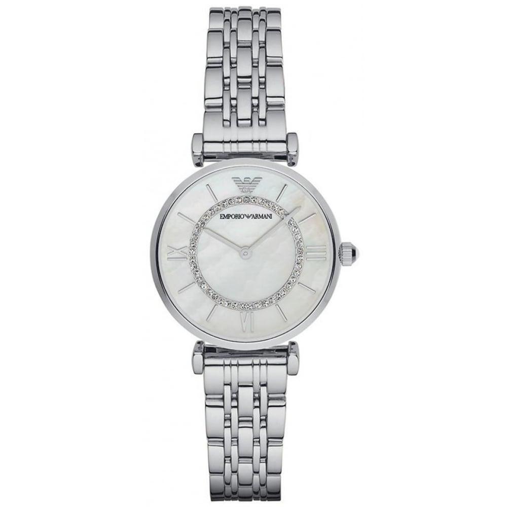 ba5cd288 Emporio Armani Ladies Gianni T-Bar Watch AR1908