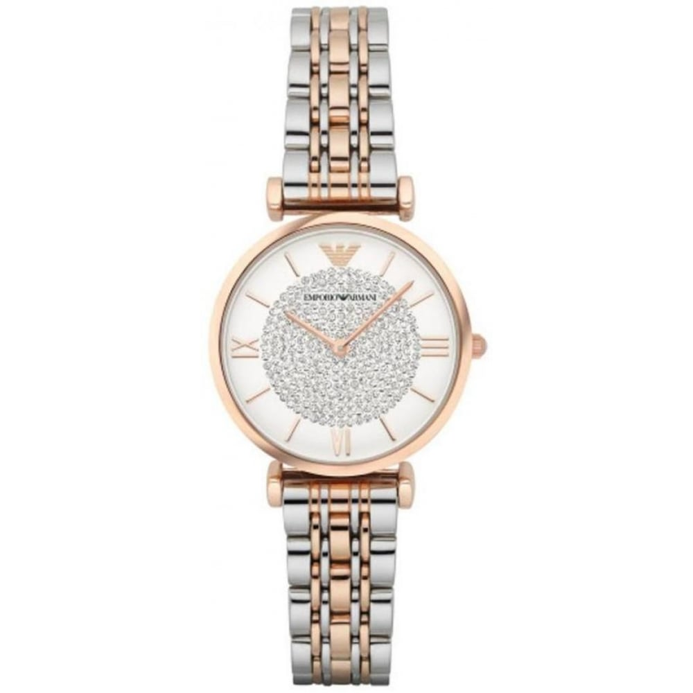 673fff5201 Emporio Armani Ladies Gianni T-Bar Watch AR1926 - Womens Watches from The  Watch Corp UK