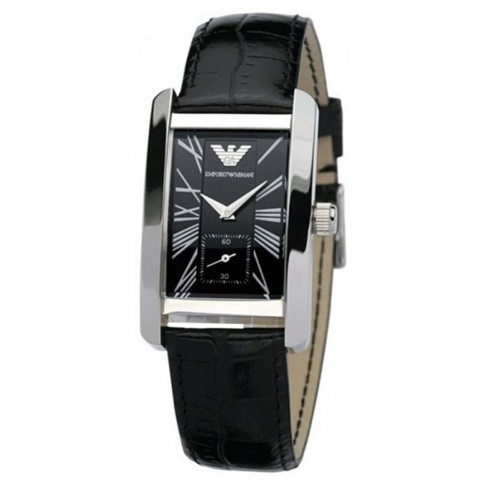 dcbc138ca046bd Emporio Armani Ladies Leather Watch AR0144 - Womens Watches from The ...