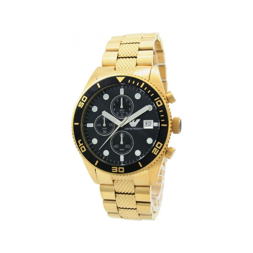 955a392e6 Emporio Armani Mens Chronograph Watch AR5857 - Mens Watches from The ...