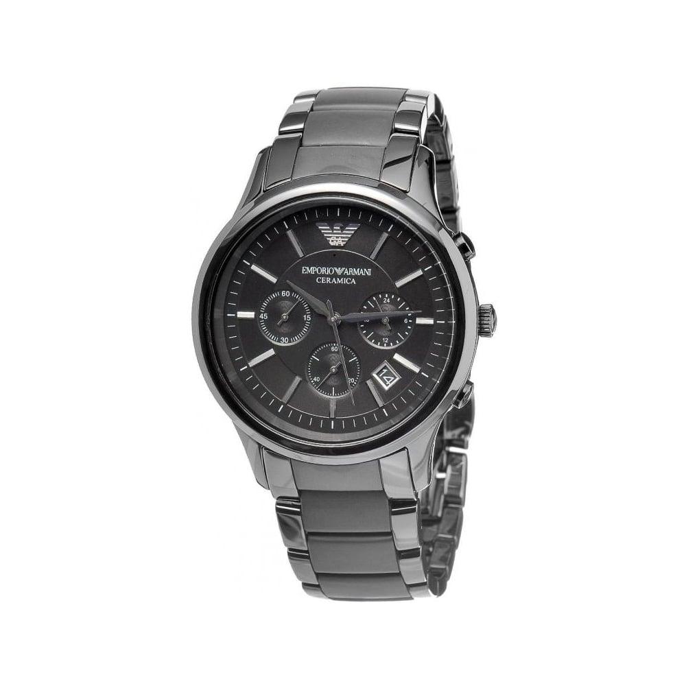 Emporio Armani Mens Renato Ceramica Watch AR1452 - Mens Watches from ... 3fdbf058f