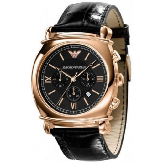 Mens Rose Gold Watch AR0321