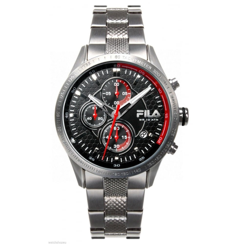 Fila mens chronograph watch 38 001 002 mens watches from the watch corp uk for Fila watches