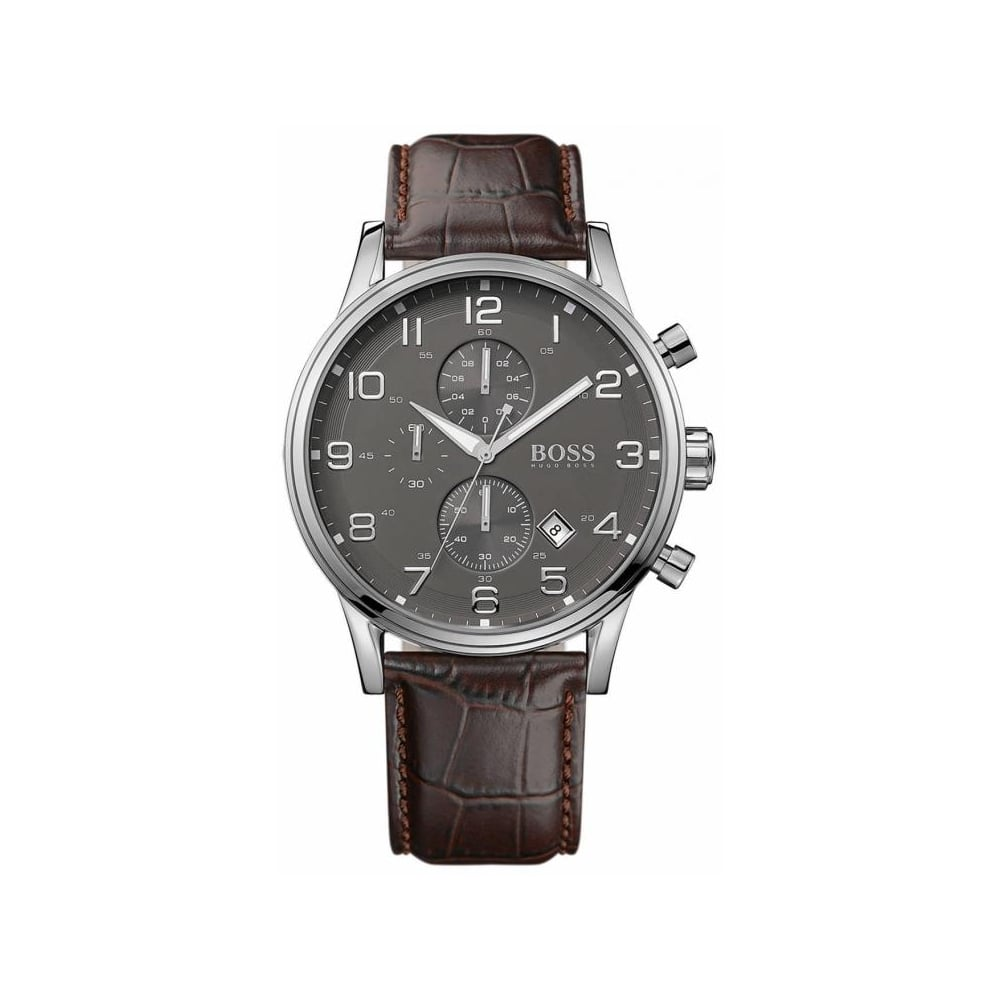 aca8422fb Hugo Boss Mens Aeroliner Watch HB 1512570 - Mens Watches from The ...