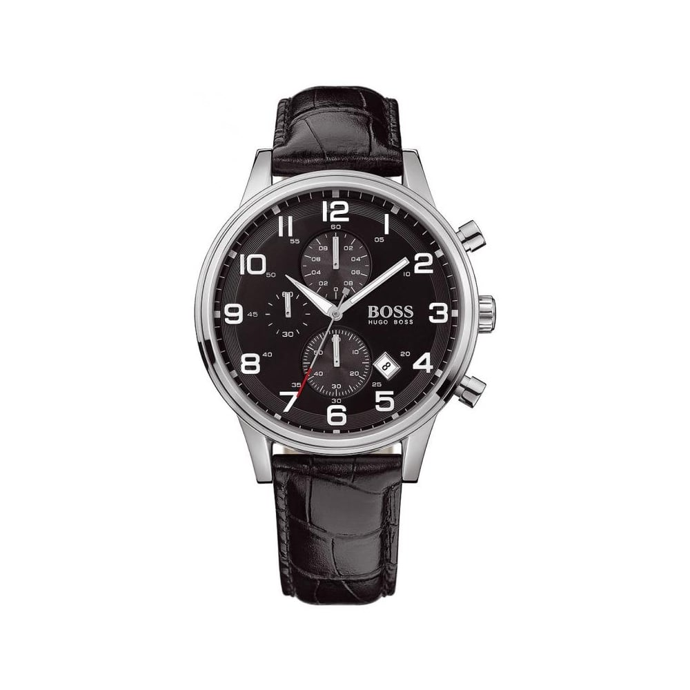 6e8683050 Hugo Boss Mens Chronograph Watch HB 1512448 - Mens Watches from The ...