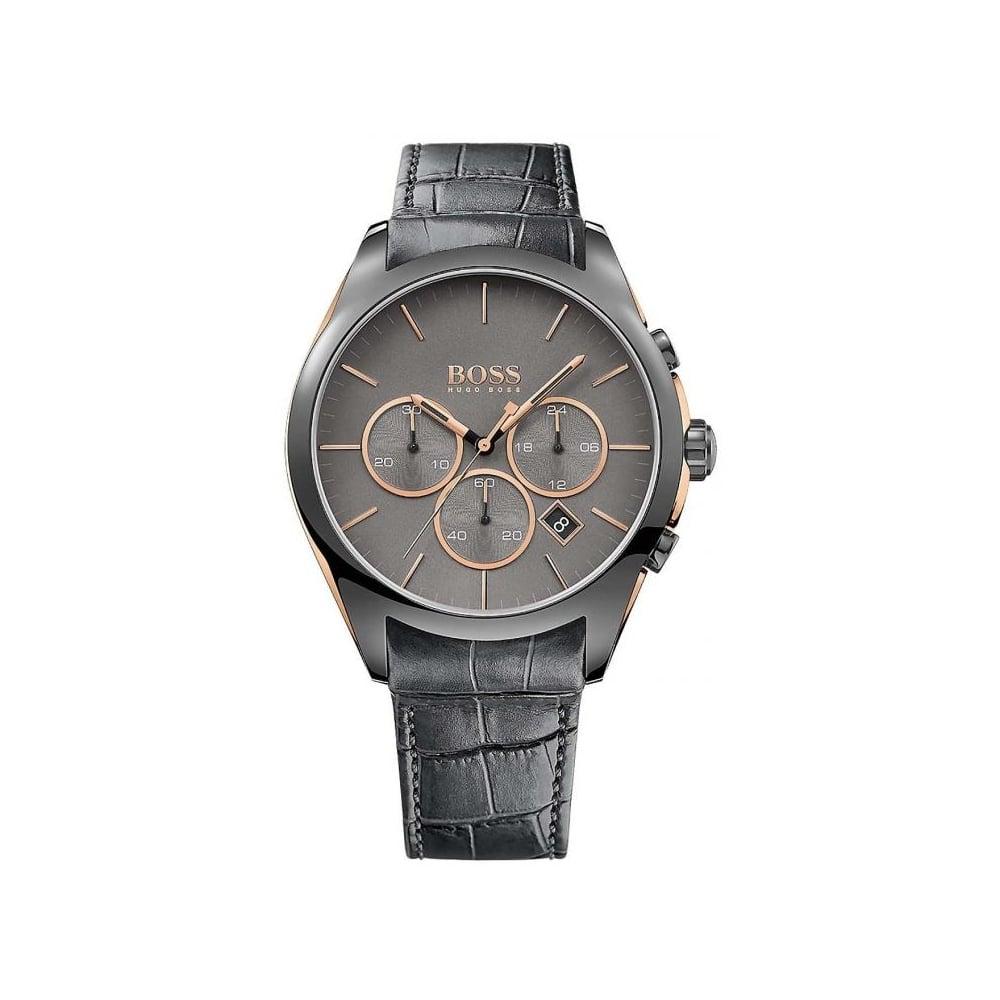 Hugo Boss Mens Onyx Chronograph Watch HB 1513366