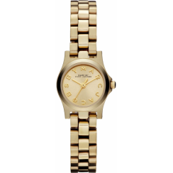 Marc Jacobs Ladies Gold Dinky Watch MBM3199