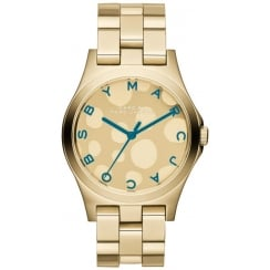 Marc Jacobs Ladies Henry Glossy Watch MBM3267