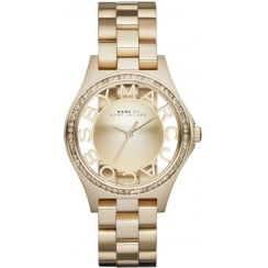 Marc Jacobs Ladies Henry Watch MBM3338