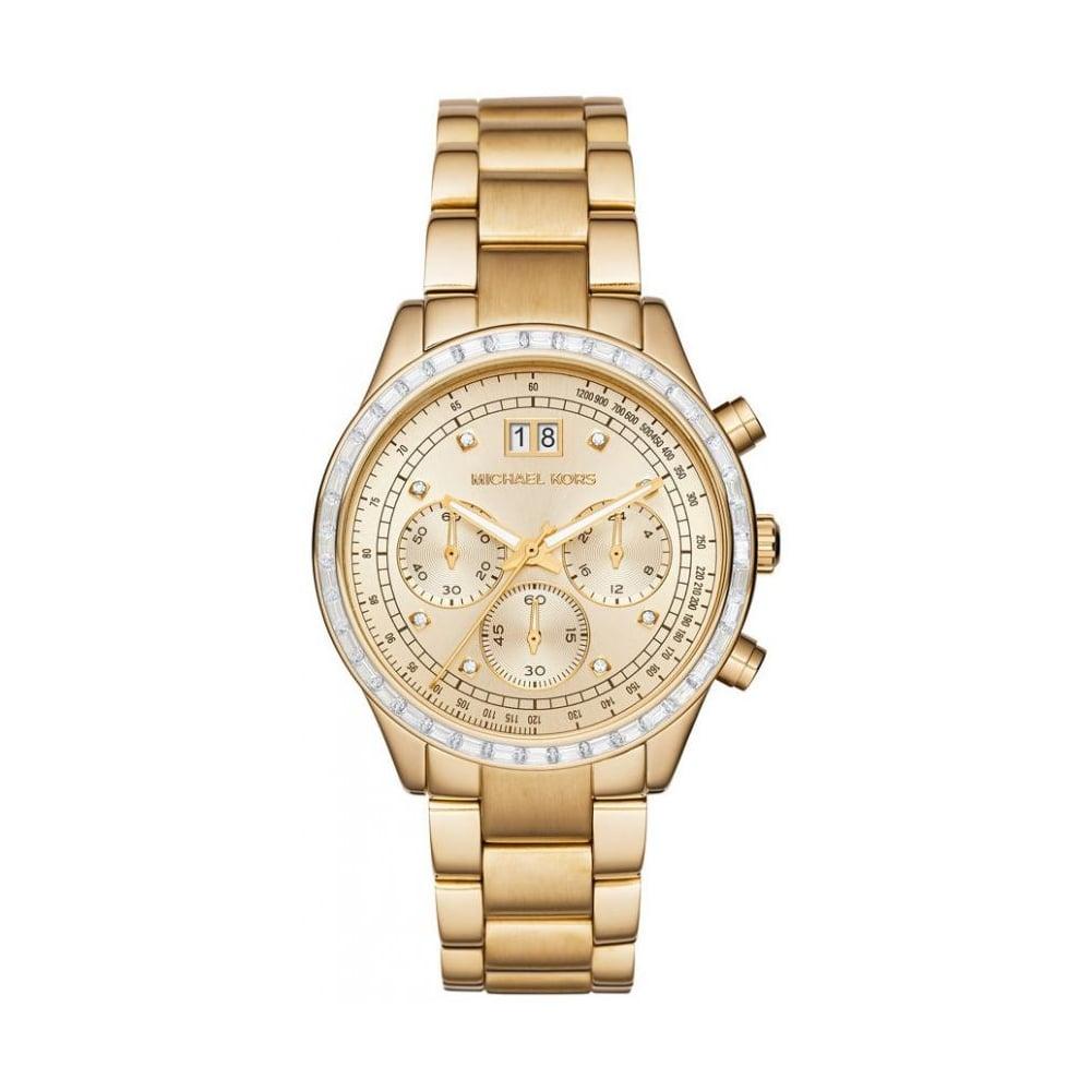 5f03c0ca0d2c Michael Kors Gold Brinkley Watch MK6187