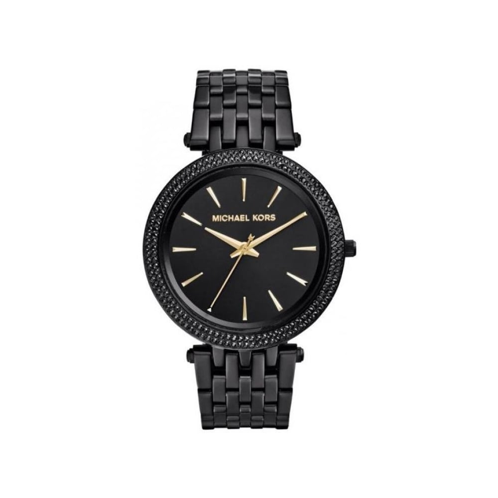 62de92c1580b Michael Kors Ladies Black Darci Watch MK3337 - Womens Watches from ...