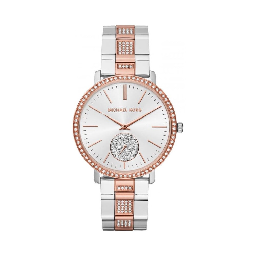 74932e5b7deb Michael Kors Ladies Jaryn Pav Two-Tone Watch MK3660 - Womens Watches from  The Watch Corp UK