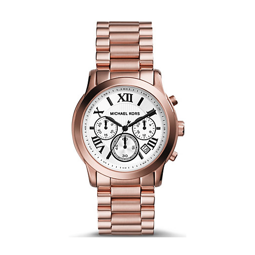 Ladies Rose Gold Cooper Watch MK5929