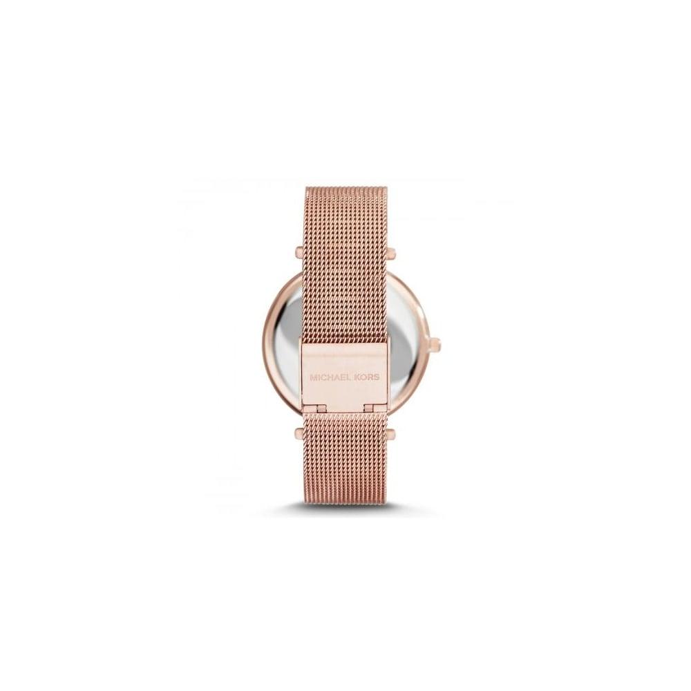 2968eb592566 Michael Kors Ladies Rose Gold Darci Watch MK3369 - Womens Watches ...