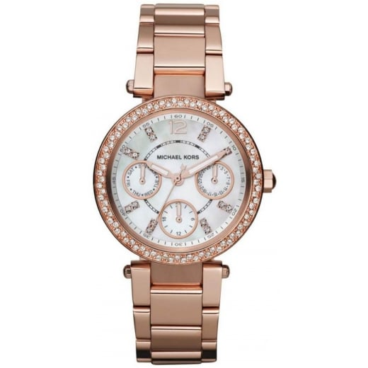 Ladies Rose Gold Mini Parker MK5616