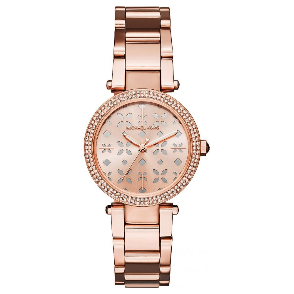 9acab225573c Michael Kors Ladies Rose Gold Mini Parker Watch MK6470 - Womens Watches  from The Watch Corp UK