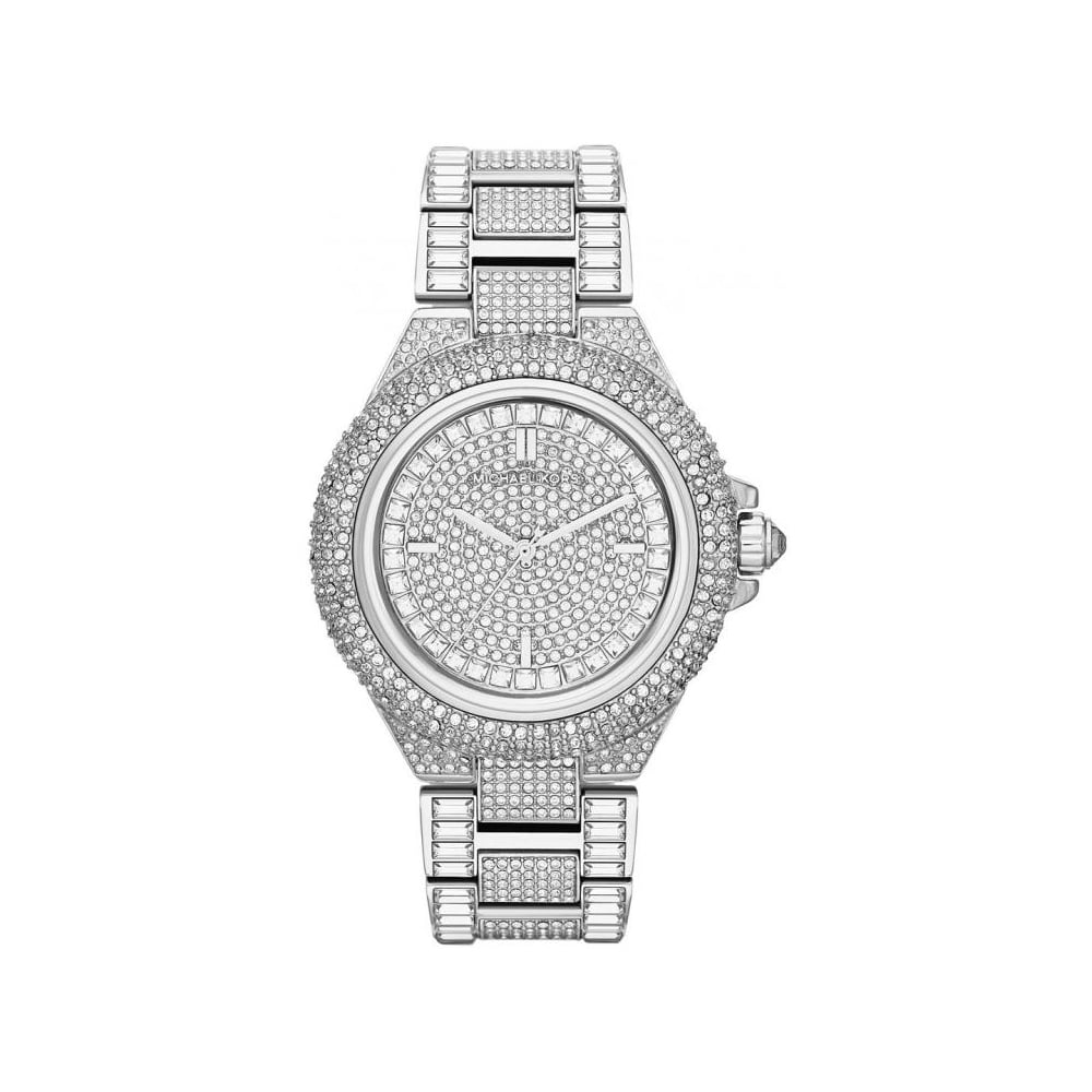 1af8e0ddf06c Michael Kors Ladies Silver Camille Glitz MK5869 - Womens Watches from The  Watch Corp UK