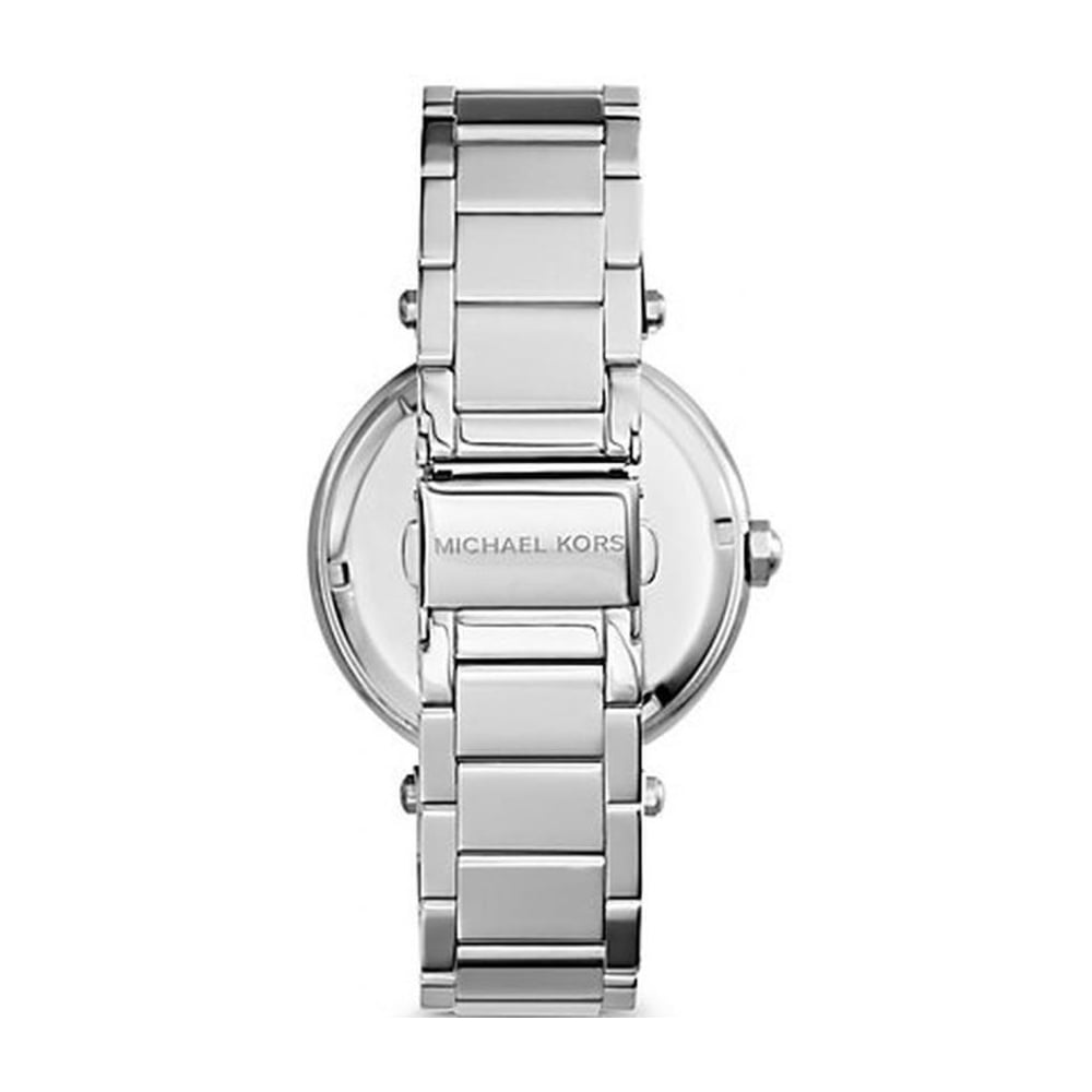 23d115fe0a72 Michael Kors Ladies Silver Parker Watch MK5925 - Womens Watches from ...