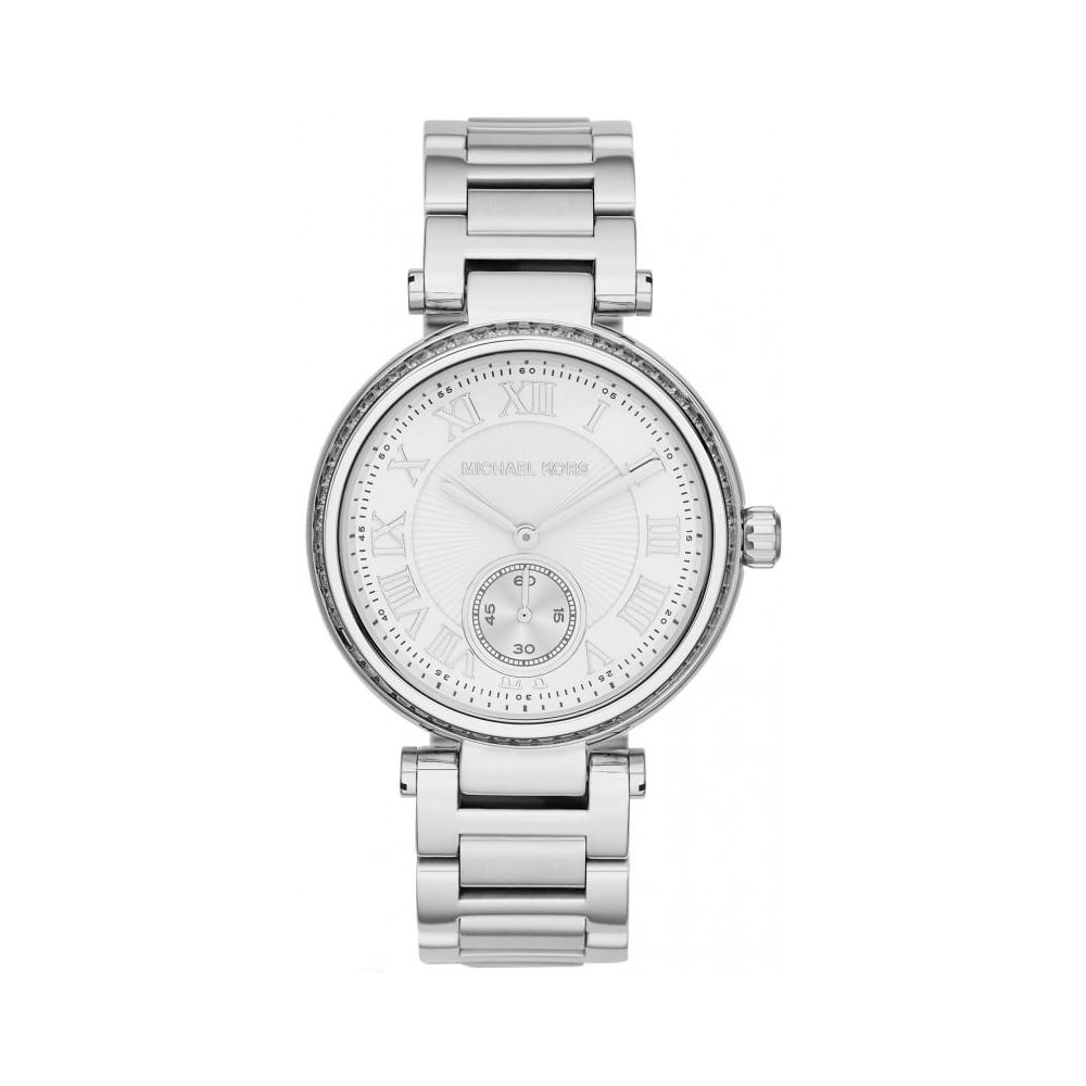 db9d38f390f Michael Kors Ladies Silver Skylar Watch MK5866 - Womens Watches from ...