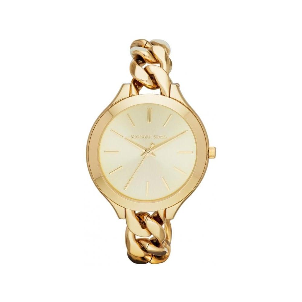 26003953f1fa4 Michael Kors Ladies Slim Runway Chain Watch MK3222 - Womens Watches from  The Watch Corp UK