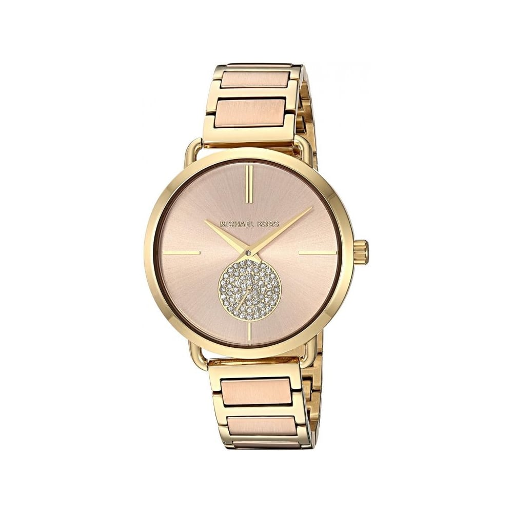 73b7b2afb1ae Michael Kors Ladies Two Tone Portia Watch MK3706 - Womens Watches from The  Watch Corp UK