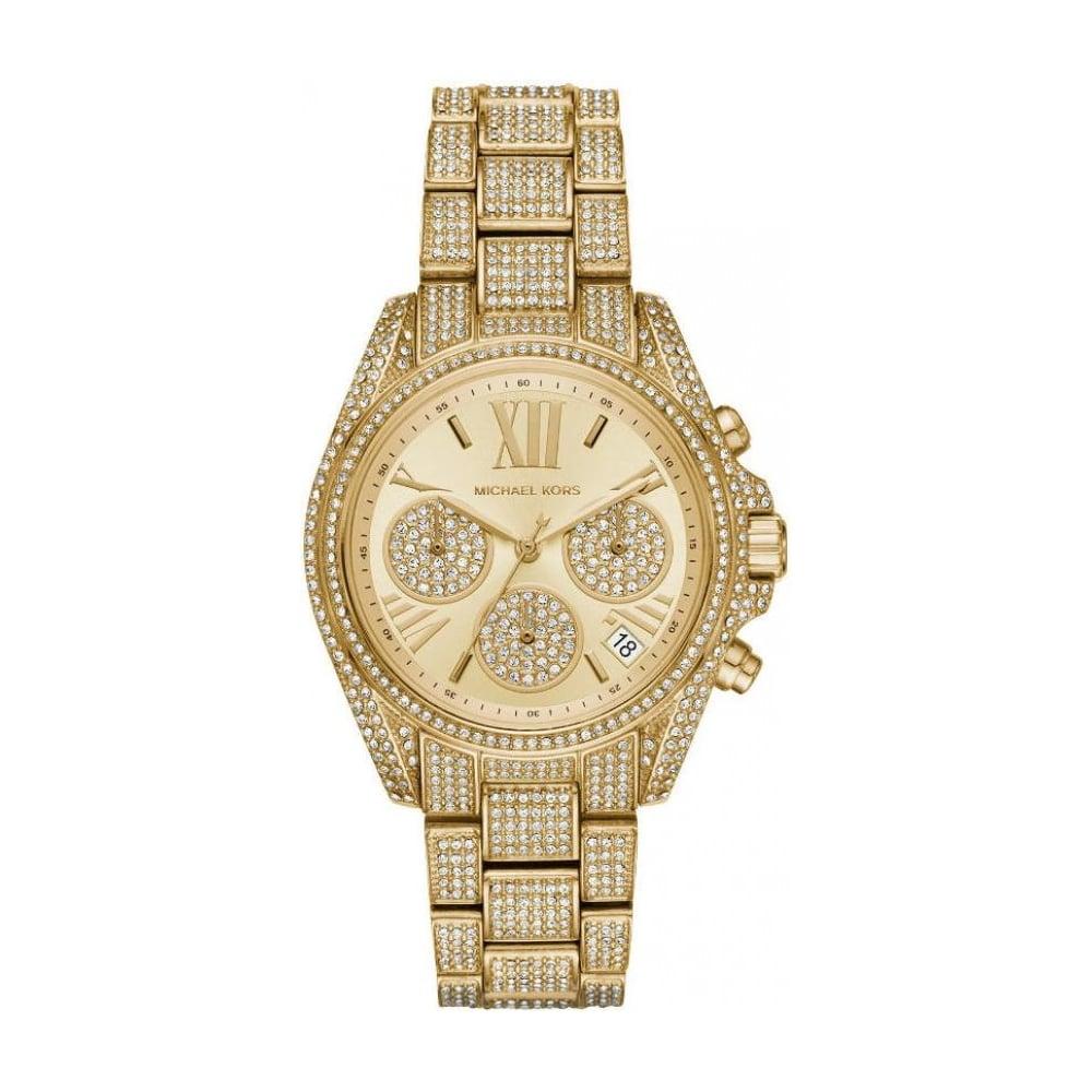 d301e57bc8de Michael Kors Mini Bradshaw Pave Watch MK6494 - Womens Watches from The Watch  Corp UK