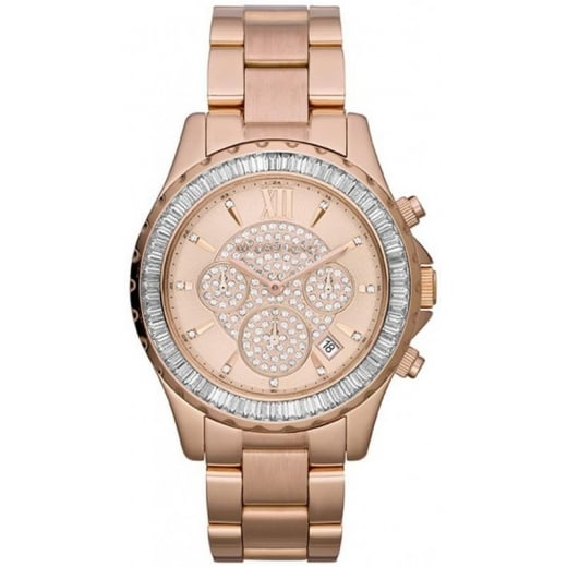 Rose Gold Madison Watch MK5811