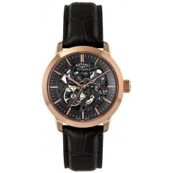 Rotary Mens Les Originales Skeleton Watch LE90540/04