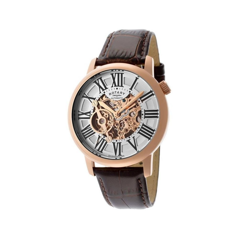 rotary mens skeleton watch gle000017 21 rotary from the watch rotary mens skeleton watch gle000017 21