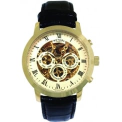 Rotary Vintage Skeleton Watch GS02375/01