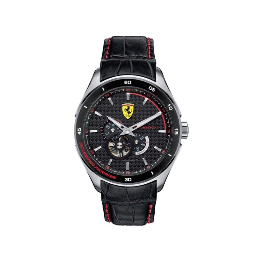 watches sf dial round red black mens skusf analog store men watch ferrari helios