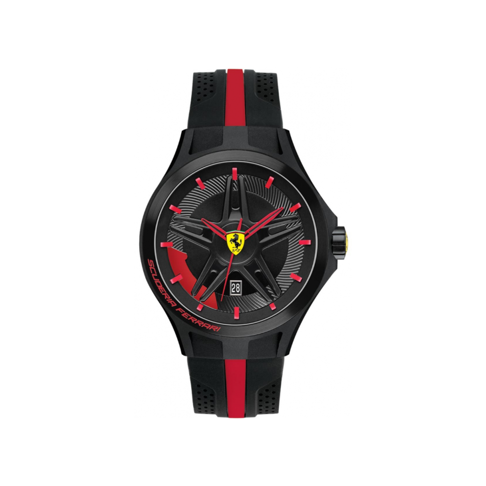 Ferrari Scuderia Ferrari Mens Lap Time Watch 0830160 Mens Watches From The Watch Corp Uk