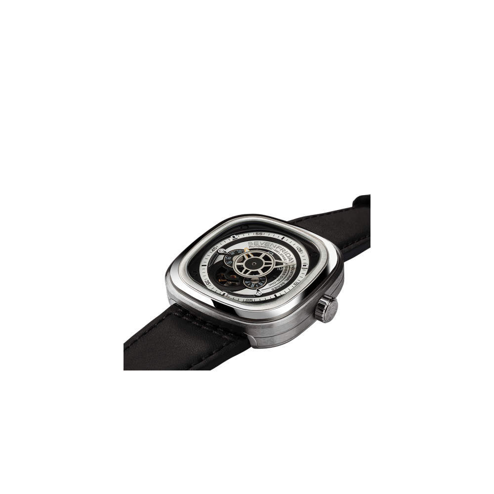 Sevenfriday Automatic Essence Watch P1b 01 P Series Mens Watches Silver